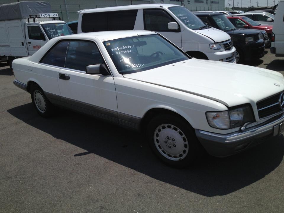 SUC 1985 Mercedes-Benz S-Class 500SEC [2275]